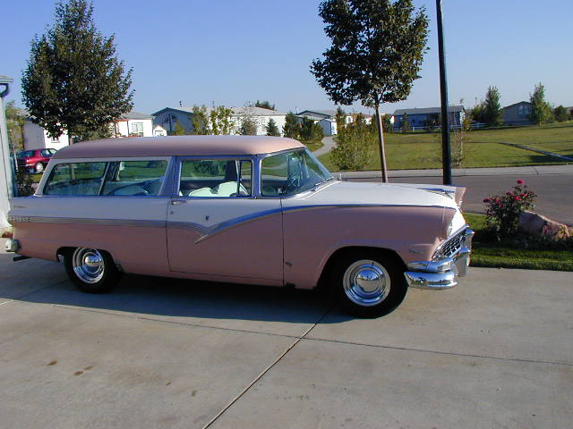 1956 ford parklane for 1956 ford 2 door wagon